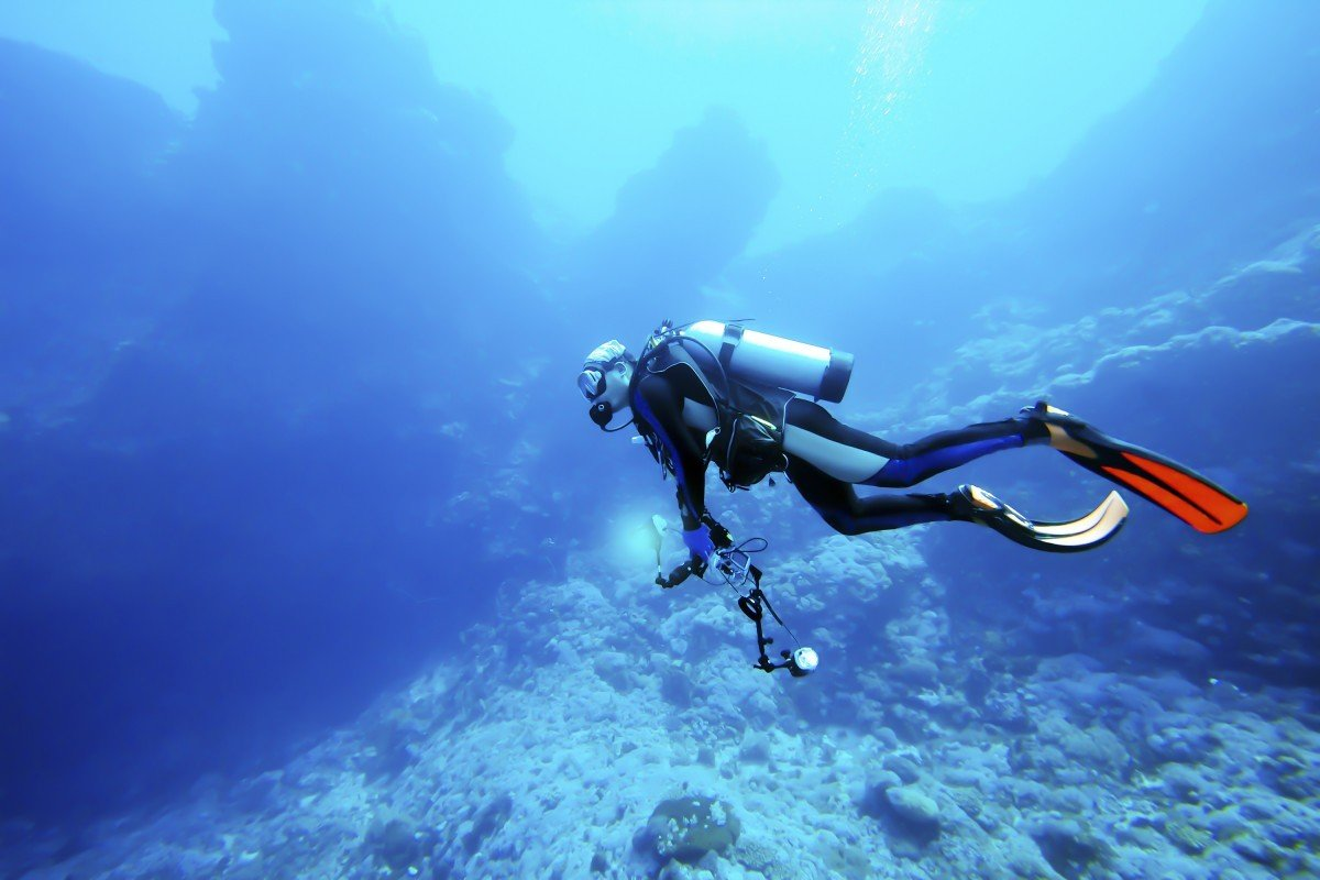 Advanced Scuba Diving Near Lipari